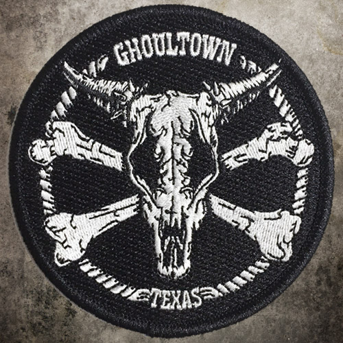 Ghoultown Cowskull Patch - Click to Close