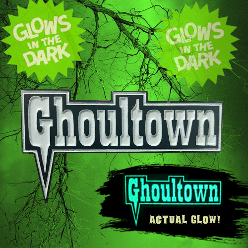 Ghoultown Logo Enamel Pin - Click to Close