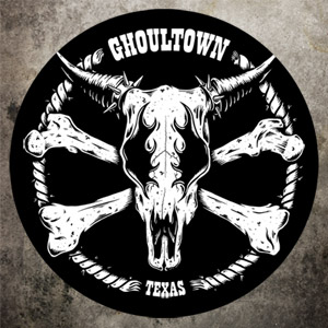 Ghoultown Cowskull Sticker - Click to Close