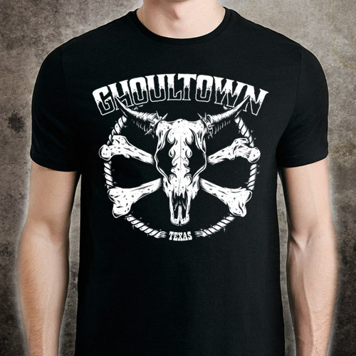 Cowskull T-Shirt - Click to Close